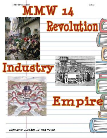 REVOLUTION, INDUSTRY,  and  EMPIRE
