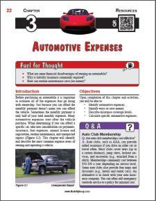 Auto Upkeep - (Chapter 3 - Automotive Expenses - Textbook and Workbook) 3rd Edition