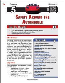 Auto Upkeep - (Chapter 5 - Safety Around the Automobile - Textbook and Workbook) 3rd Edition