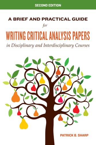 A brief and practical guide for writing critical analysis papers in ebook features fandeluxe Image collections