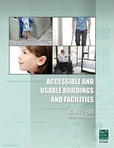 ANSI Accessible  and  Usable Buildings & Facilities 2009