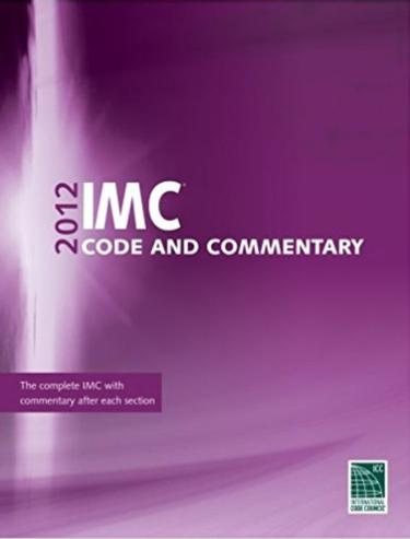 2012 International Mechanical Code and Commentary (W/GA Amendments) (IMC)