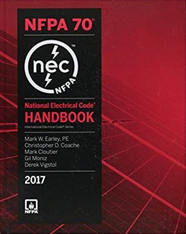 2017 NFPA 70: National Electrical Code Handbook