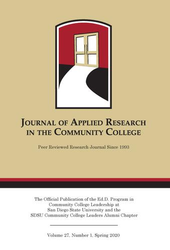 A Spring 2020 Journal of Applied Research in the Community College
