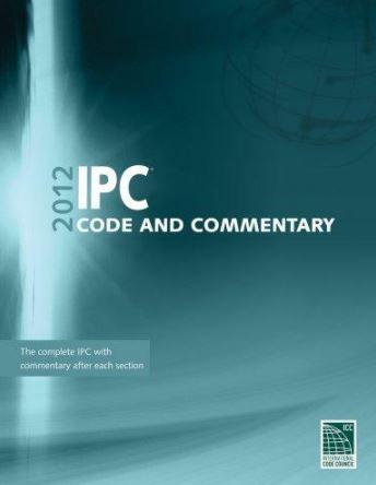 2012 International Plumbing Code  and  Commentary (W/GA Amendments) (IPC)