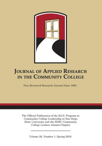 A Spring 2019 Journal of Applied Research in the Community College