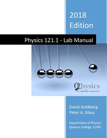 Physics 121 1: Lab Manual | RedShelf