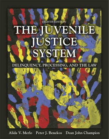 The Juvenile Justice System