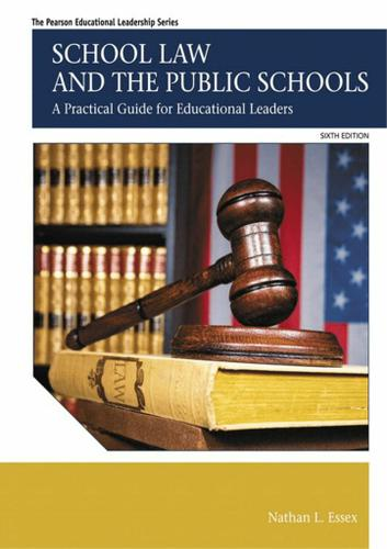 School Law and the Public Schools