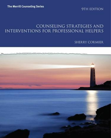 Counseling Strategies and Interventions for Professional Helpers