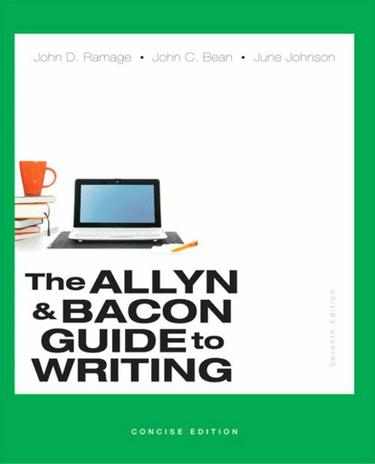 The Allyn & Bacon Guide to Writing, Concise Edition