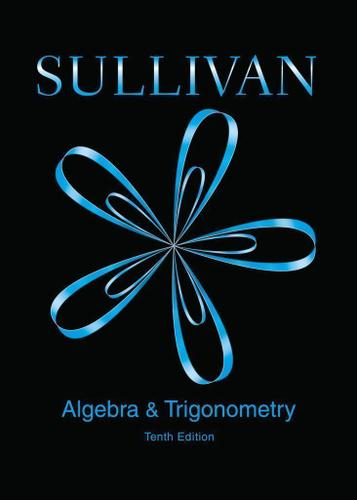 Algebra and Trigonometry