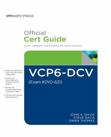 VCP6-DCV Official Cert Guide (Exam #2V0-621)