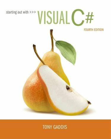 Starting out with Visual C#
