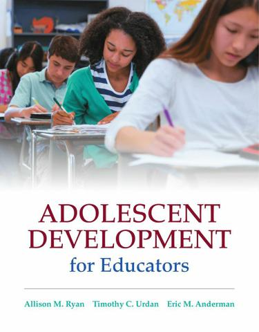 Adolescent Development for Educators