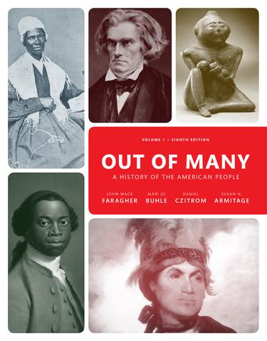 Out of Many A History of the American People Volume 1(2-downloads)