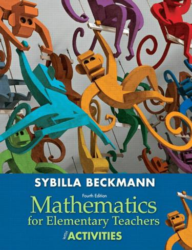 Mathematics for Elementary Teachers with Activity Manual