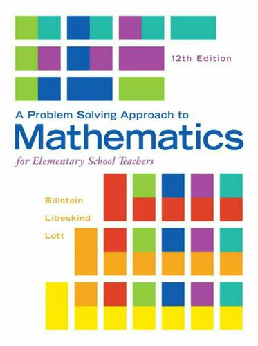 Problem Solving Approach to Mathematics for Elementary School Teachers, A