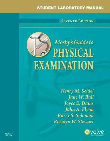 Student Laboratory Manual for Mosby's Guide to Physical Examination - E-Book