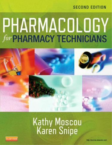 Pharmacology for Pharmacy Technicians - E-Book