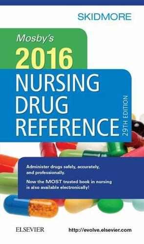 Mosby's 2016 Nursing Drug Reference - E-Book