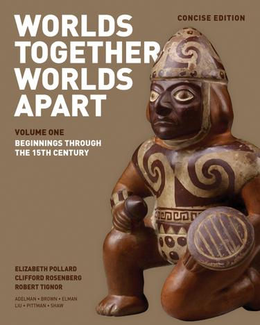 Worlds Together, Worlds Apart: A History of the World: From the Beginnings of Humankind to the Present (Concise Edition)  (Vo...