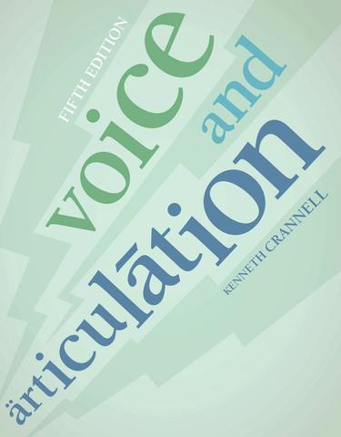 Voice and Articulation