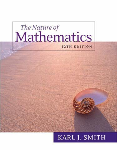 Nature of mathematics 9780538737586 | 9781133169932 redshelf.