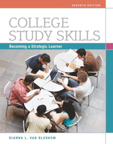 College Study Skills: Becoming a Strategic Learner