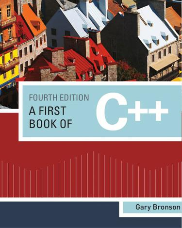 A First Book of C++