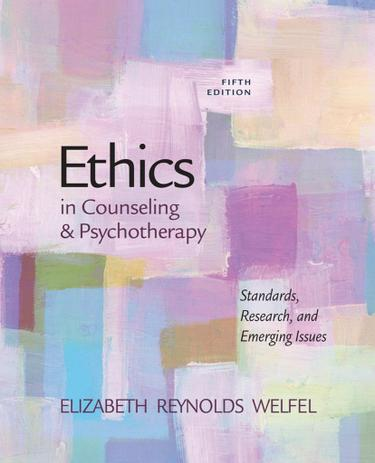 Ethics in Counseling & Psychotherapy