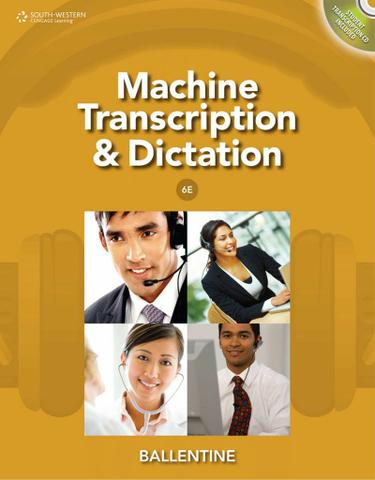 Machine Transcription & Dictation