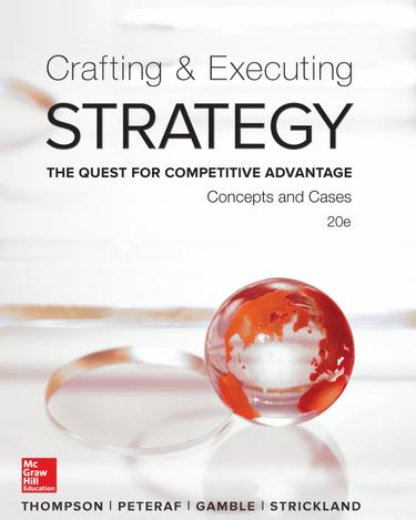 Alma college for Crafting and executing strategy cases