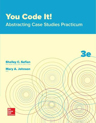 You Code It! Abstracting Case Studies Practicum