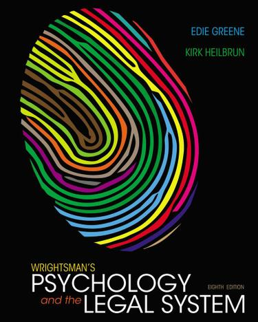 Wrightsman's Psychology and the Legal System