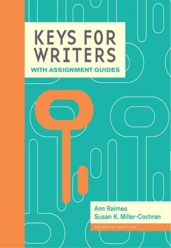 Keys for Writers with Assignment Guides, Spiral bound Version