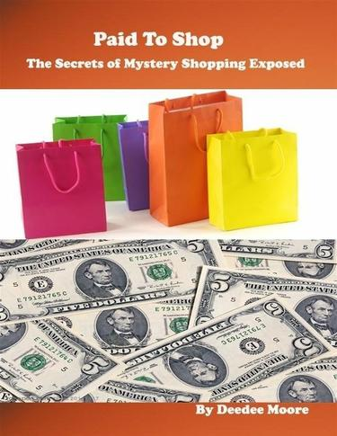 image Mystery Shopping eBook Deal 1.99 secrets of Mystery Shopping Revealed