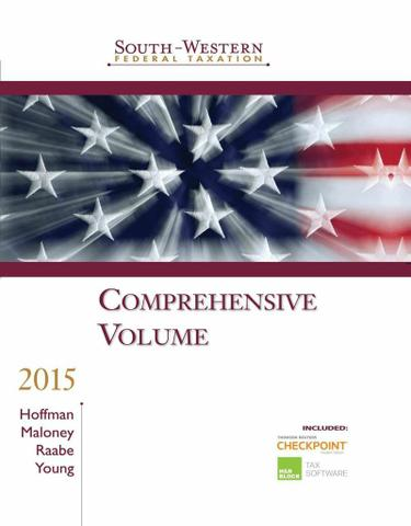 South-Western Federal Taxation 2015: Comprehensive