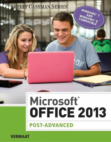 Microsoft Office 2013: Post Advanced