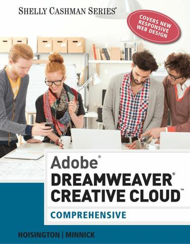 Adobe Dreamweaver Creative Cloud: Comprehensive