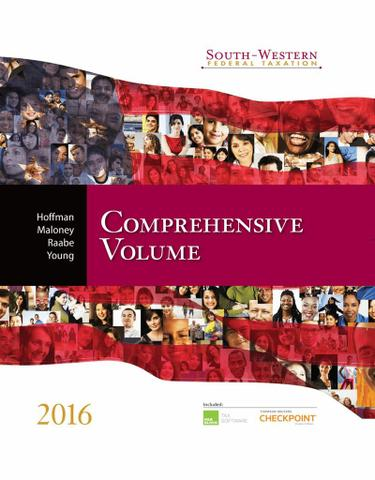 South-Western Federal Taxation 2016: Comprehensive