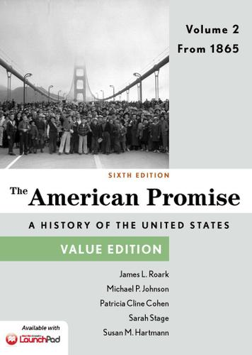 The American Promise, Value Edition, Volume 2
