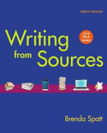 Writing from Sources with 2016 MLA Update