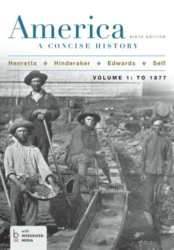 America: A Concise History, Volume I