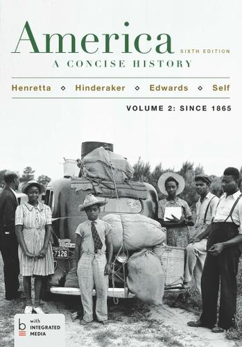 America: A Concise History,  Volume II
