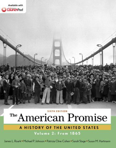The American Promise, Volume 2: Since 1865