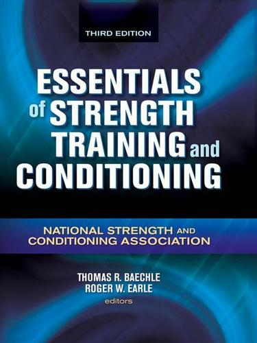 Essentials of Strength Training and Conditioning 3rd Edition