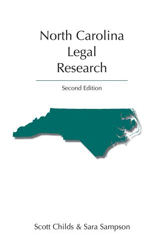 North Carolina Legal Research, Second Edition