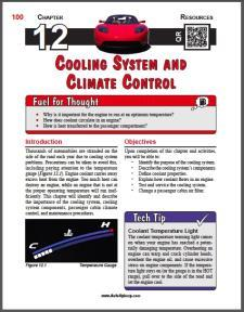 Auto Upkeep - (Chapter 12 - Cooling System and Climate Control - Textbook and Workbook) 3rd Edition