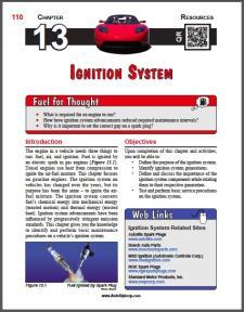 Auto Upkeep - (Chapter 13 - Ignition System - Textbook and Workbook) 3rd Edition